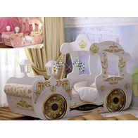 Кровать карета машина для девочки