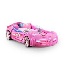 Кровать-машина BITURBO  для девочки